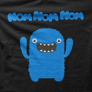 m nom nom nom- monster t-Shirts, hoodies, sweatshirts!