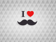 Free – Wallpaper / I Love beards